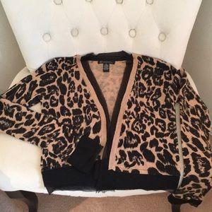 INC sweater jacket